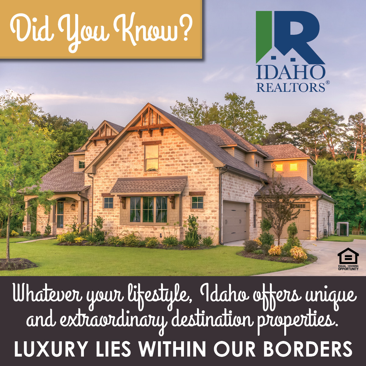 Luxury Within Idaho's Borders